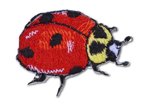 Ladybug Embroidered Iron On Patch