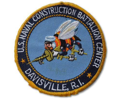 US Naval Construction Battalion Center Davisville Patch