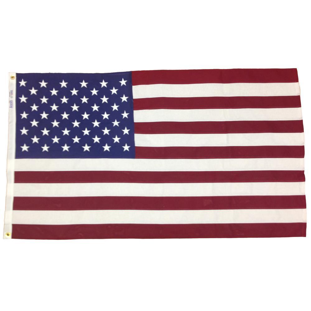 3x5 Ft Usa Bulldog Cotton Flag