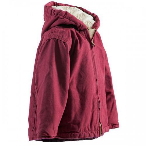Berne Infant Girls' Washed Hooded Coat