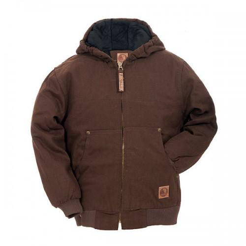 Berne Kid's Washed Hooded Jacket