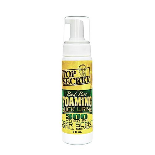 Top Secret Deer Scents Bad Boy Foaming Buck Urine 8 oz