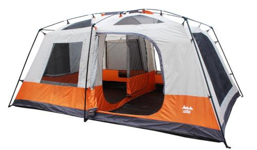 World Famous Sports Two Room Cabin Tent with Taped Seams