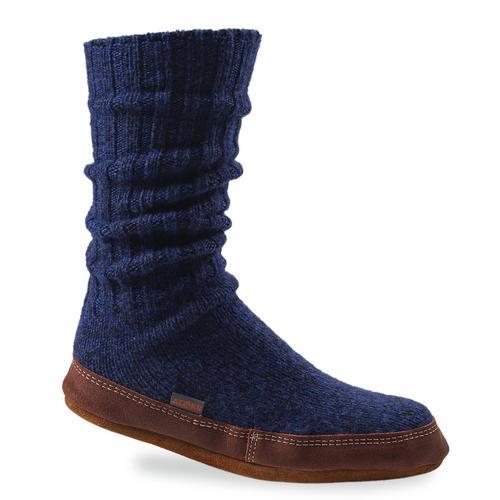 Acorn Solid Slipper Socks