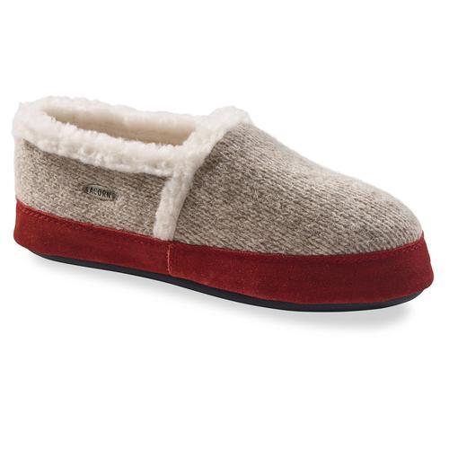 Acorn Moc Ragg Wool Slippers