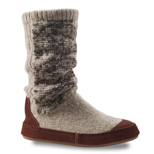 Acorn Women's Slouch Boot Slipper Socks