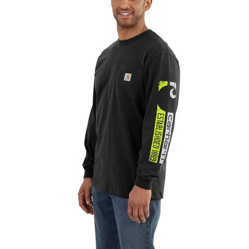 Carhartt Men's Workwear Graphic 1889 Accent Long Sleeve T