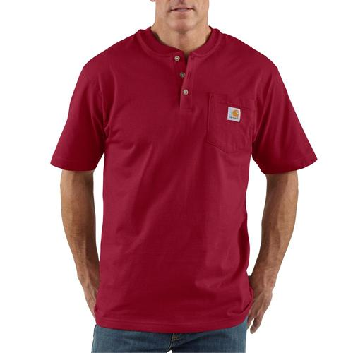 Carhartt Men's Short Sleeve Workwear Henley
