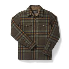 Filson Men's Mackinaw Jac-Shirt GREEN/BLACK