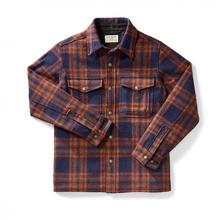 Filson Men's Mackinaw Jac-Shirt NAVY/COPPER