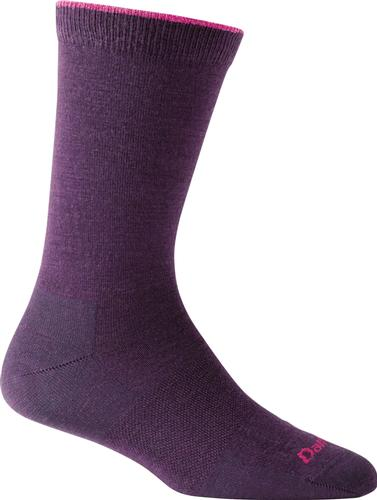 Darn Tough Women's Solid Basic Crew Light Socks