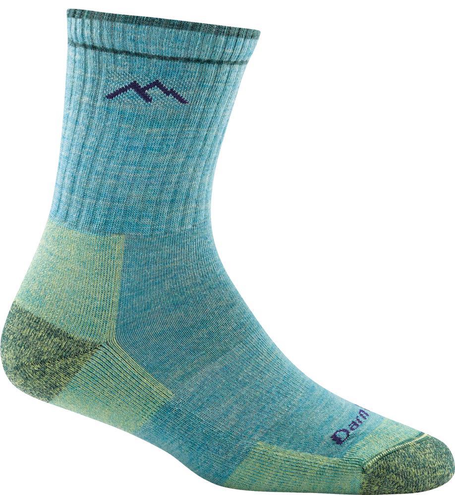 Darn Tough Women's Hiker Micro Crew Cushion Socks AQUA