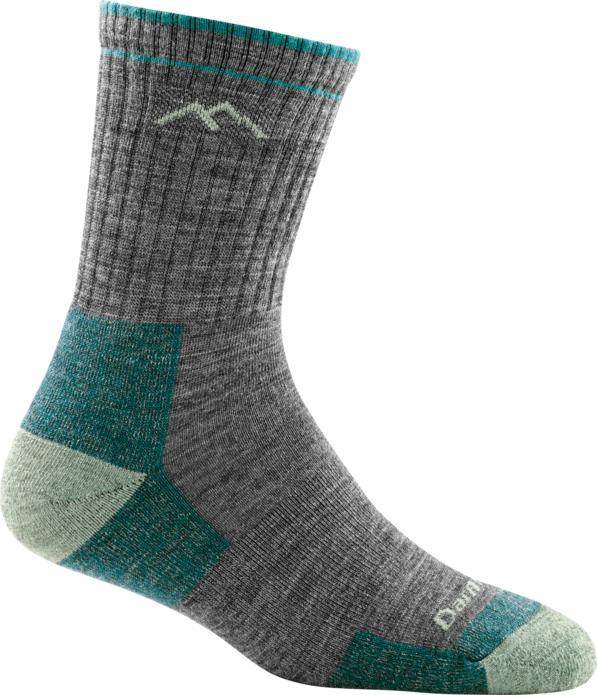 Darn Tough Women's Hiker Micro Crew Cushion Socks SLATE