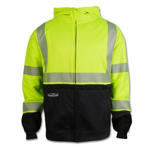Arborwear Men's Tech Double Thick (Class 3) Full Zip Sweatshirt