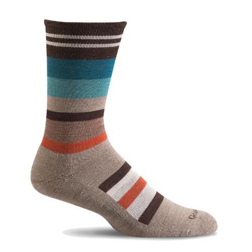 Good Hew Men's Stand Up Stripe Sock