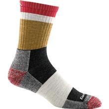 Darn Tough Men's Heady Stripe Micro Crew Light Cushion Sock ASH