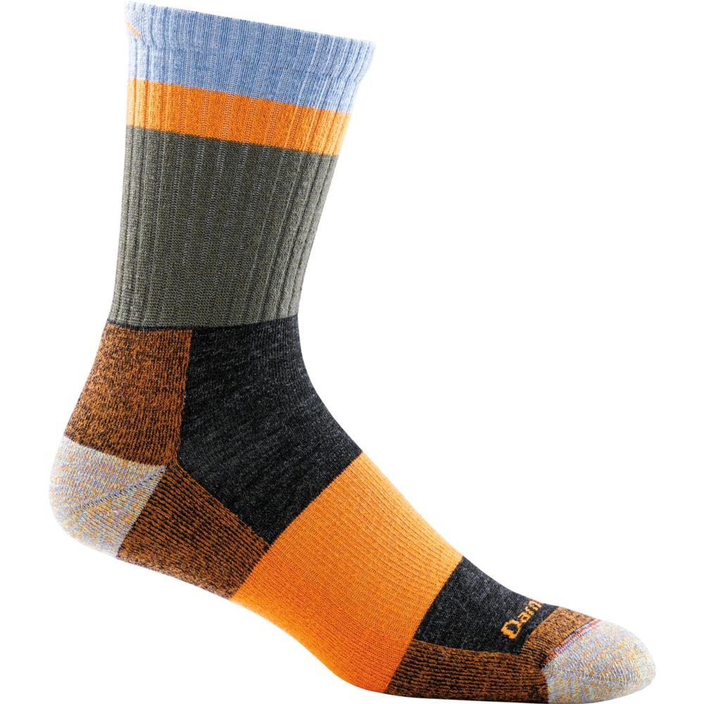 Darn Tough Men's Heady Stripe Micro Crew Light Cushion Sock