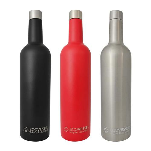 Eco Vessel Vine Insulated Wine Bottle