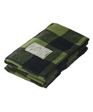 Woolrich Rough Rider Wool Buffalo Check Blanket