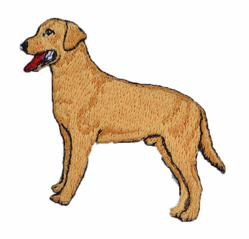Kenco Labrador Retriever Iron On Embroidered Patch