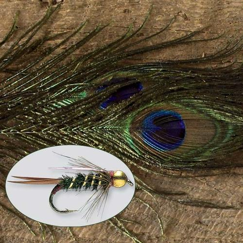 Orvis Strung Peacock Herl Feathers