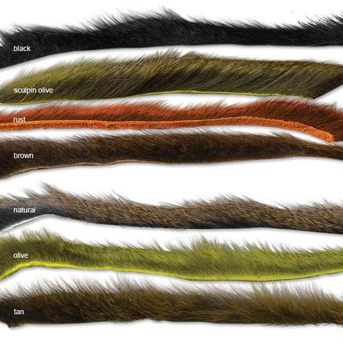 Orvis Pine Squirrel Skin Zonkered Fly Tying Material