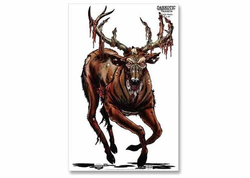 Birchwood Casey Zombie Deer Darkotic Blood Trail Splattering Target
