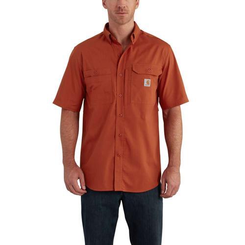 Carhartt Men's Force Ridgefield Solid Short Sleeve Shirt