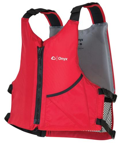 Onyx Outdoor Universal Adult PFD with High Back