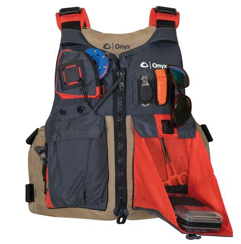 Onyx Outdoor Universal Adult Fishing Flotation Vest