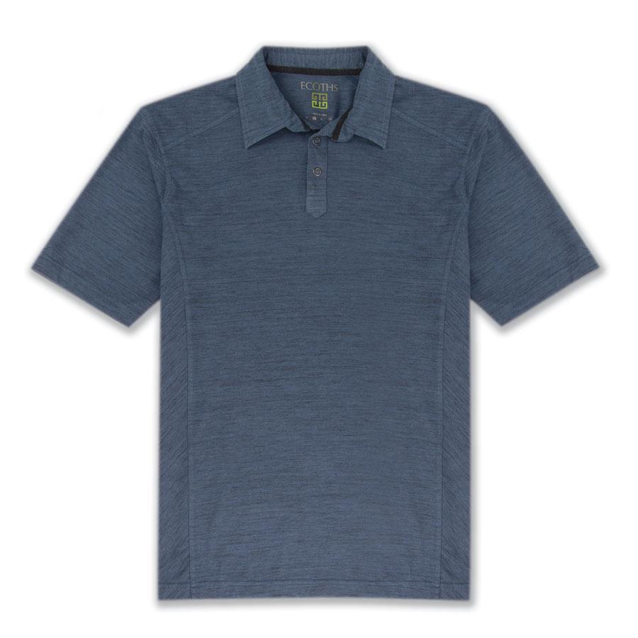 Aventura Ecoths Men's Baxter Polo