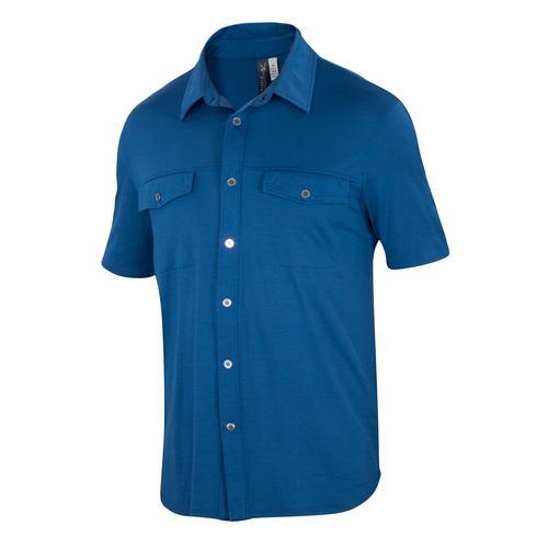 Ibex Men's All In Short Sleeve Shirt