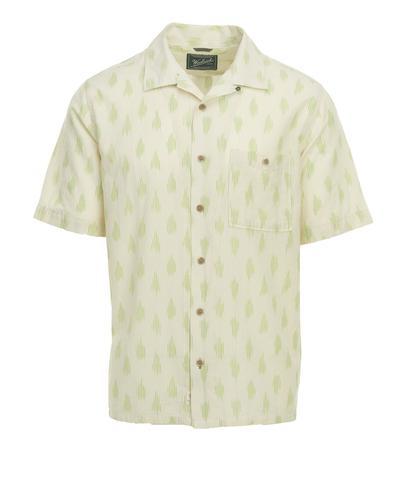 Woolrich Men's Ecorich Altitude Organic Cotton Short Sleeve Shirt