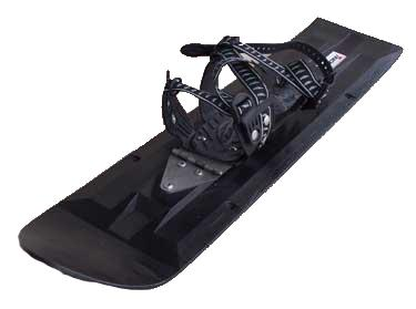 Trackers Ski Shoes with Snowshoe Binding
