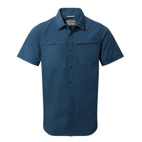 Craghoppers Men's Kiwi Trek Short Sleeved Shirt