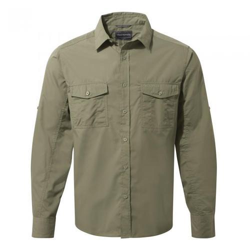 Craghoppers Men's Kiwi Long Sleeved Shirt