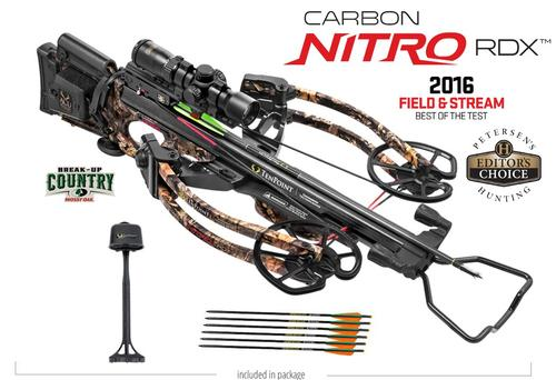 Ten Point Carbon Nitro RDX Crossbow with Acudraw
