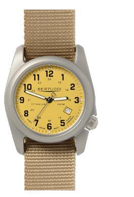 Bertucci A-2T Original Classics Watch - Khaki