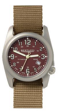 Bertucci A-2T Original Classics Watch - Crimson