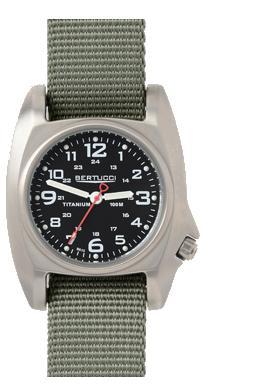 Bertucci B-1 Titanium Field Watch - Black