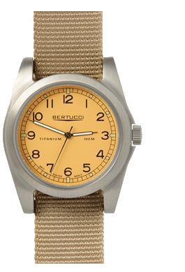 Bertucci A-3T Vintage 42 Watch - Desert Stone