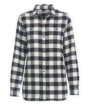 Woolrich Women's Pemberton Boyfriend Shirt IVORY_CHECK