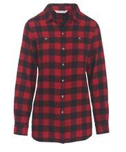 Woolrich Women's Pemberton Boyfriend Shirt OLD_RED