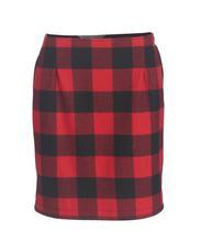 Woolrich Women's Richville 2 Wool Skirt OLD_RED