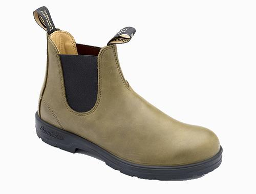 Blundstone Casual Series 1490 Olive Leather Chelsea Boot