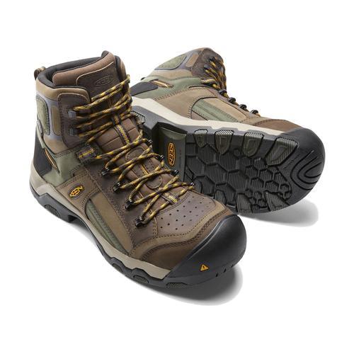Keen Men's Davenport Mid Composite Toe Waterproof Boot