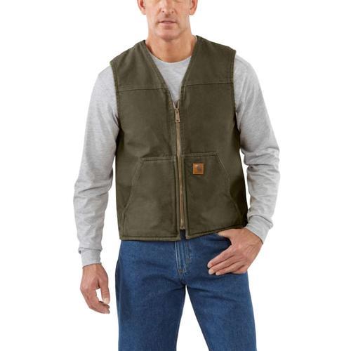 Carhartt Men's Sandstone Sherpa Lined Vest