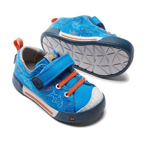 Keen Kid's Encanto Finley Low Imperial Blue Sharks