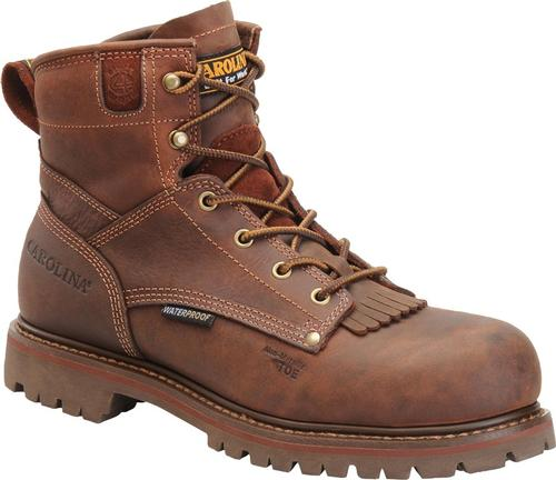 Carolina Men's 6 Inch Waterproof Grizzly Boot