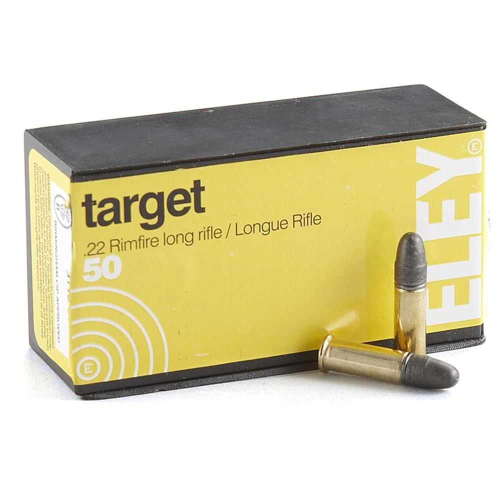Eley 22 40gr Rimfire Long Rifle Target Ammunition 50 Rounds